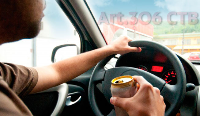 Embriaguez ao volante ctb