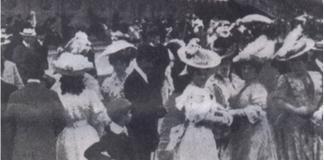 Baile imperial em Manaus