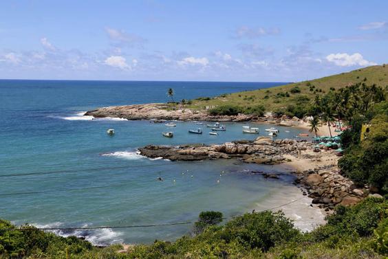 Praia de Calhetas, em Cabo de Santo Agostinho (PE)Ivan Ribeiro/Ivan Ribeiro/Folhapress