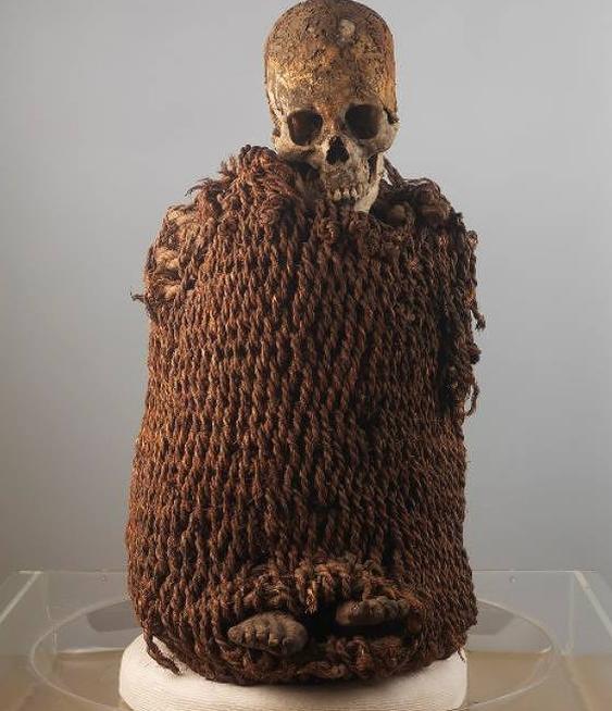 A múmia Aymara faz parte do acervo do Museu Nacional/Museu Nacional/UFRJ